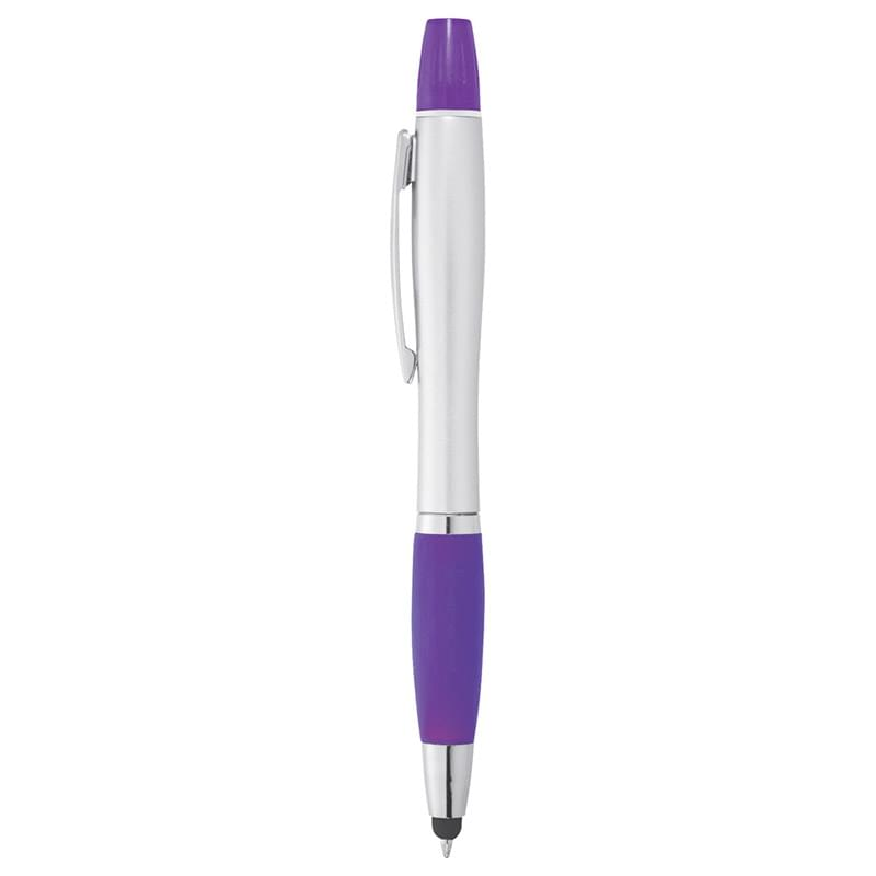 Nash Glam Ballpt Pen-Stylus-Hightlighter