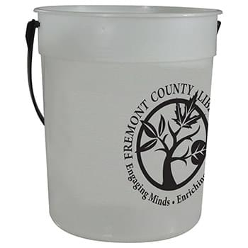 87oz Glow-in-the-Dark Pail with Handle