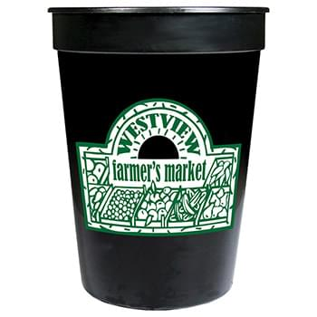 Solid 12oz Stadium Cup