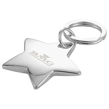 Star-Shaped Key Ring