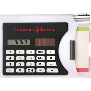 Calculator / Business Card Holder