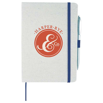"5.5"" x 8.5"" Luna Canvas Notebook"