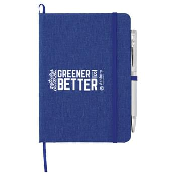 "5"" x 7"" Recycled Cotton Bound Notebook"