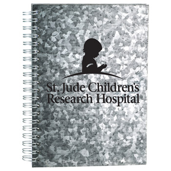 Galvanized Notebook