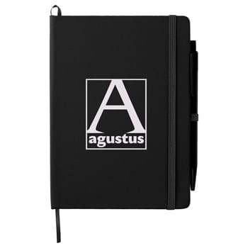 "5"" x 7"" Prime Notebook With Pen"