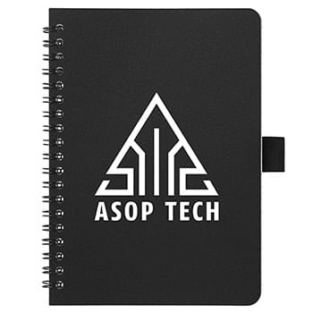 "5"" x 7"" Spiral Notebook with Antimicrobi"