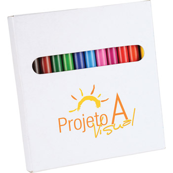 12-Piece Colored Pencil Set
