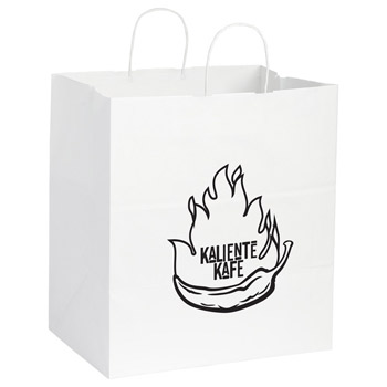 Kraft Paper Large Bag White