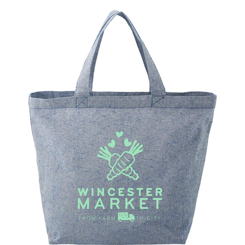 HOT DEAL - Recycled 5oz Cotton Twill Grocery Tote