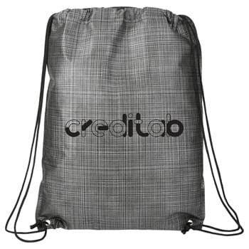 Crossweave Heat Sealed Drawstring Bag