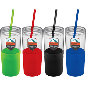 Babylon 22-oz. Tumbler with Straw