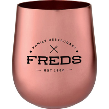 Copper 14oz Stemless Tumbler