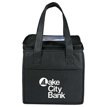 Cube 9-Can Non-Woven Lunch Cooler