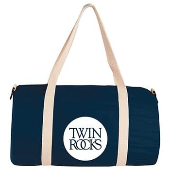 "5 oz. Cotton 17.75"" Barrel Duffel"