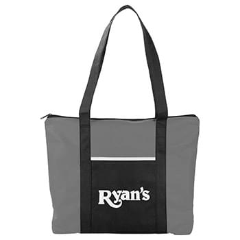 Timeline Non-Woven Zip Convention Tote