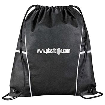 Diamond Drawstring Cinch Backpack