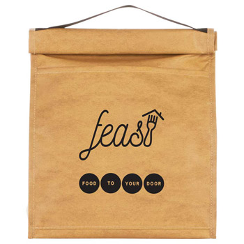 Paper Bag 12-Can Lunch Cooler