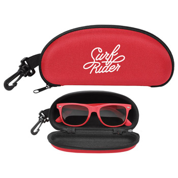 Boardwalk Zippered Sunglasses Case