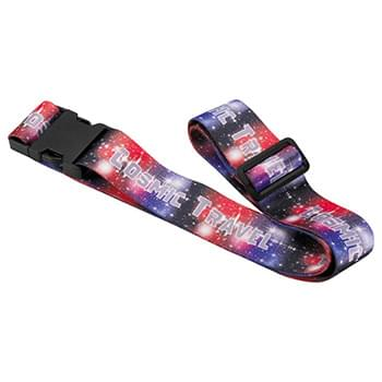 "Full Color Luggage Strap - 2""W x 63""L"