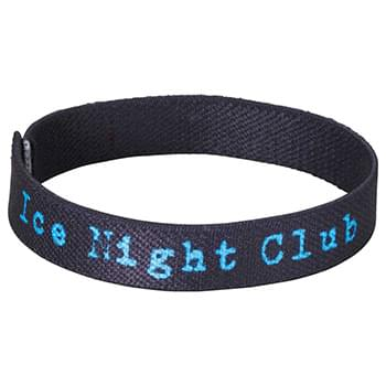 "Full Color 1/2"" Elastic Wristband"