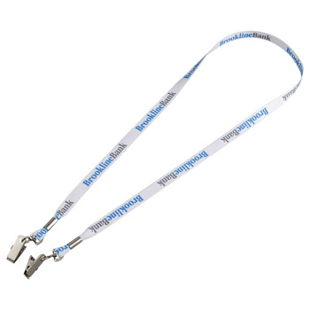 "Full Color Premium Double 1/2"" Lanyard"